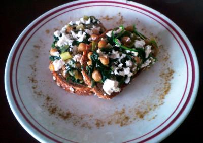 Espinacas con Garbanzos (spinazie met kikkererwten)