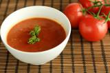 Rijk gevulde tomatensoep