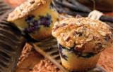 Muffins van zwarte bessen